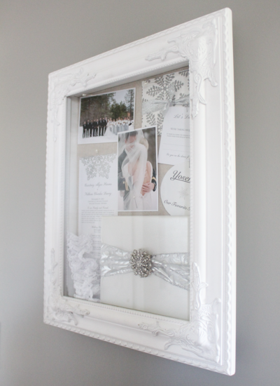 DIY: Wedding Shadow Box