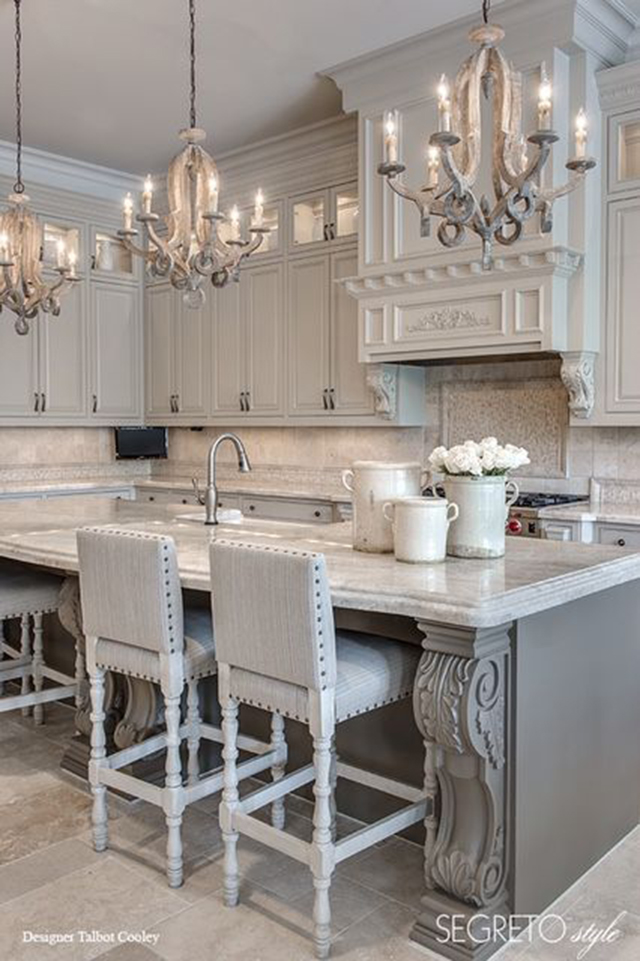 10 Fabulous White And Gray Kitchens. Designer: Talbot Cooley