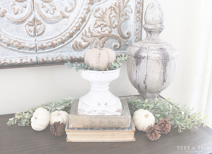 5 Tips for Creating an Elegant Fall Home. Accessorizing with Pumpkins
