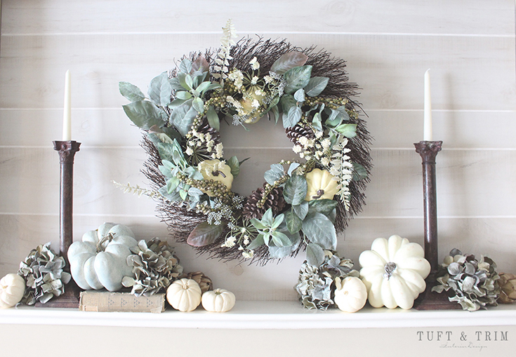 5 Tips for Creating an Elegant Fall Home. Hang a Wreath