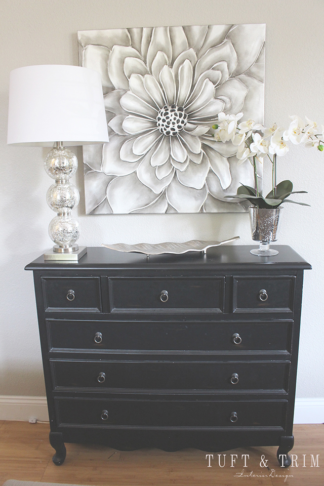 A Home Goods Makeover  See how just a couple of changes can transform a  space. A Home Goods Makeover  Teal and Silver   Tuft   Trim