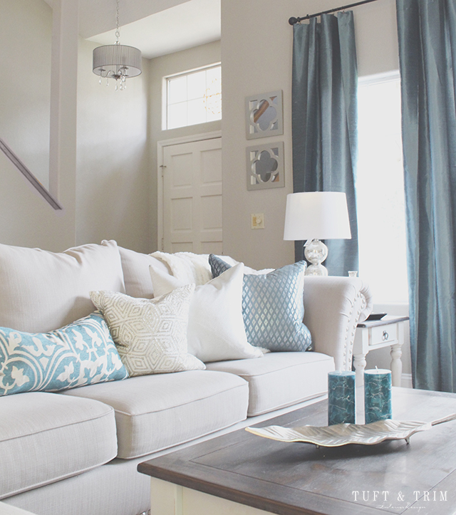 A Home Goods Makeover. See how just a couple of changes can transform a space!