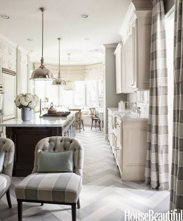 10 Fabulous White and Gray Kitchens. Designer: mary-mcdonald