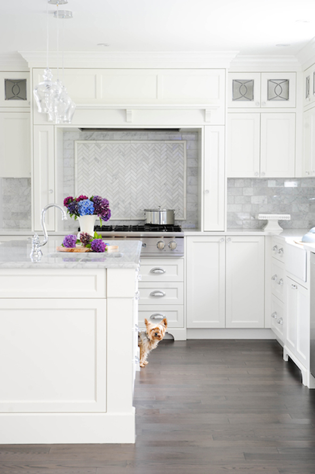 10 Fabulous White and Gray Kitchens. Designer: Enviable designs