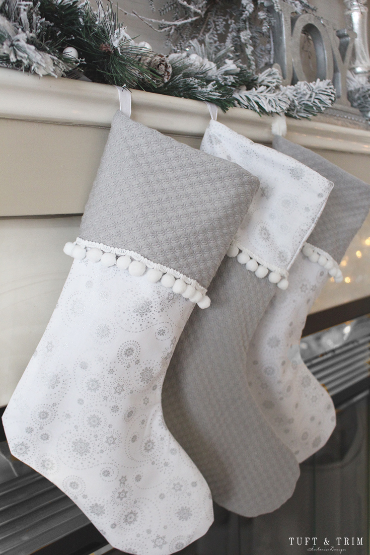How to make your own christmas stocking