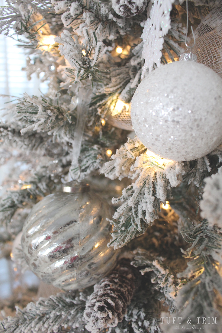 Holiday Home Tour and Decorating Tips with Tuft & Trim: Christmas Tree Ornaments