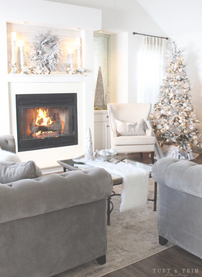 Holiday Home Tour and Decorating Tips with Tuft & Trim