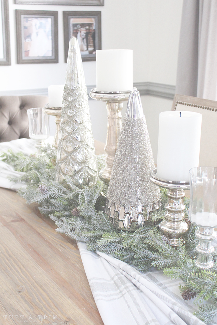 Holiday Home Tour and Decorating Tips with Tuft & Trim: The Christmas Table