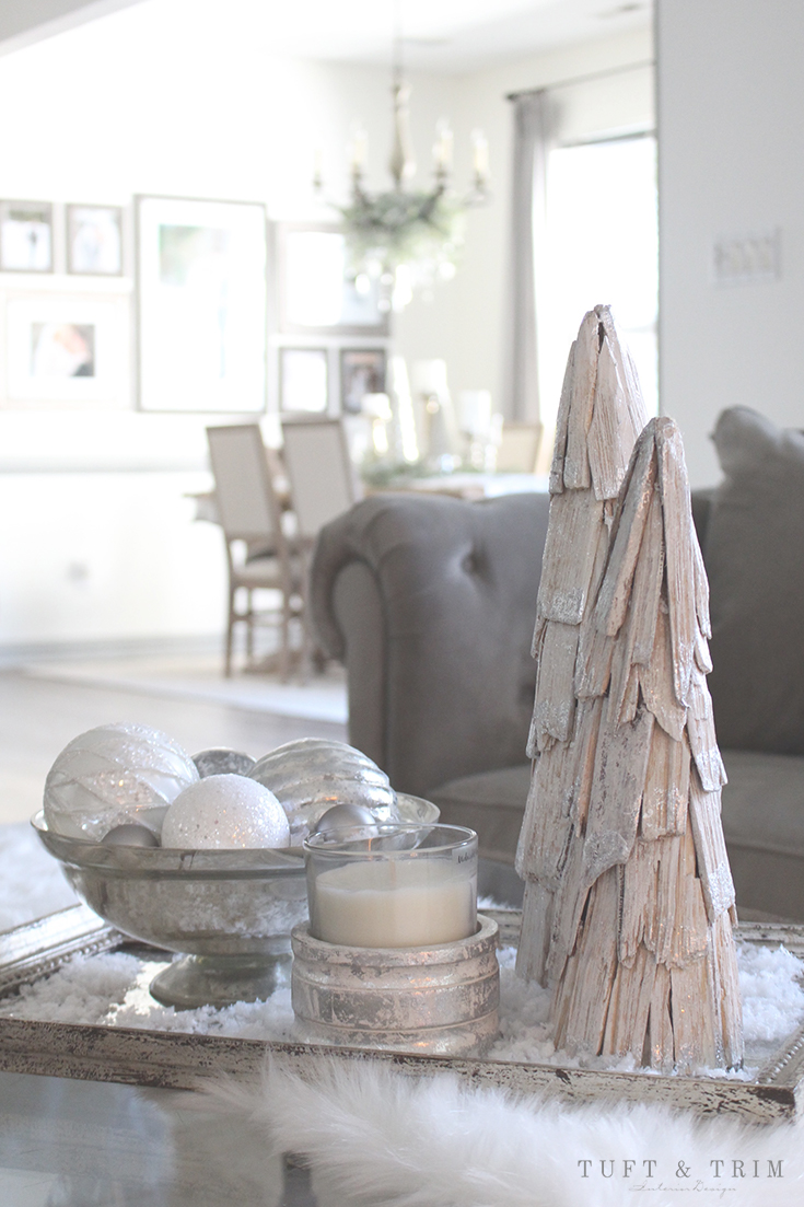 Holiday Home Tour and Decorating Tips with Tuft & Trim: Christmas Decorating
