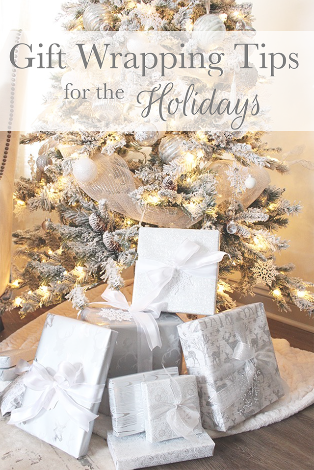 Gift Wrapping Tips for the Holidays: Tuft & Trim