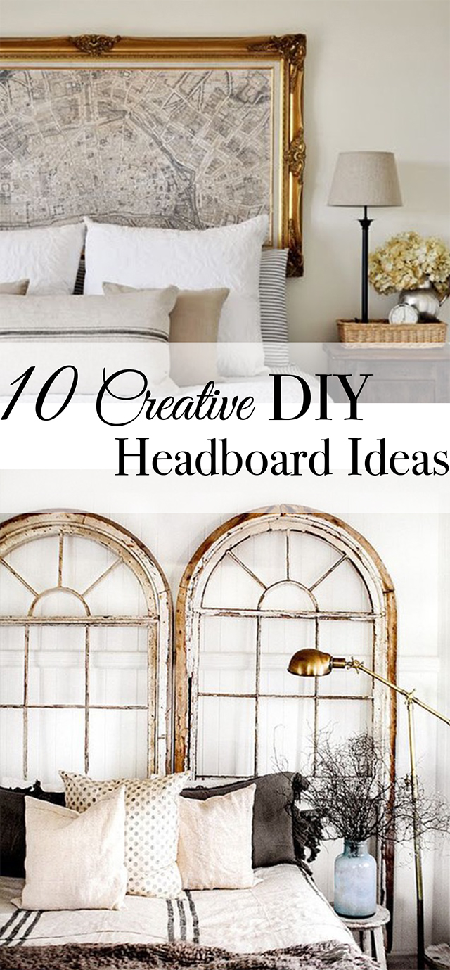 Backboard Ideas 10 Creative DIY Headboard Ideas: Get inspired to make your own unique  headboard with these
