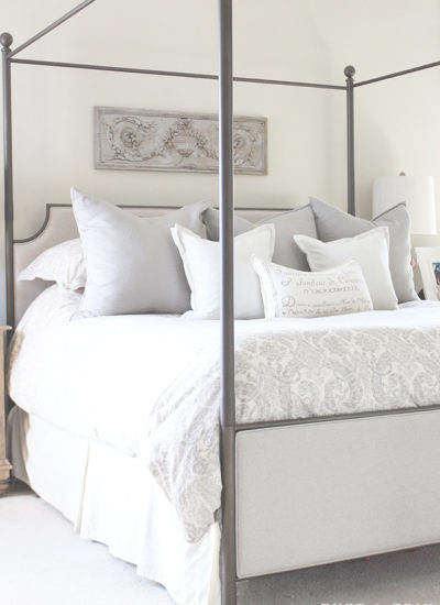 Tuft & Trim Home Tour: Master Bedroom