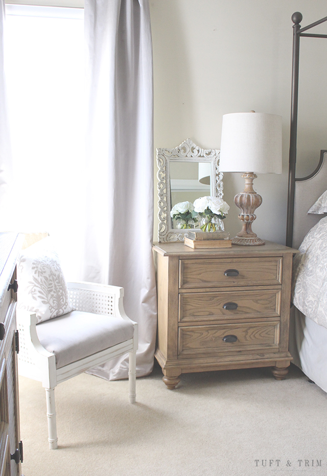 Tuft and Trim Home Tour: Master Bedroom Design