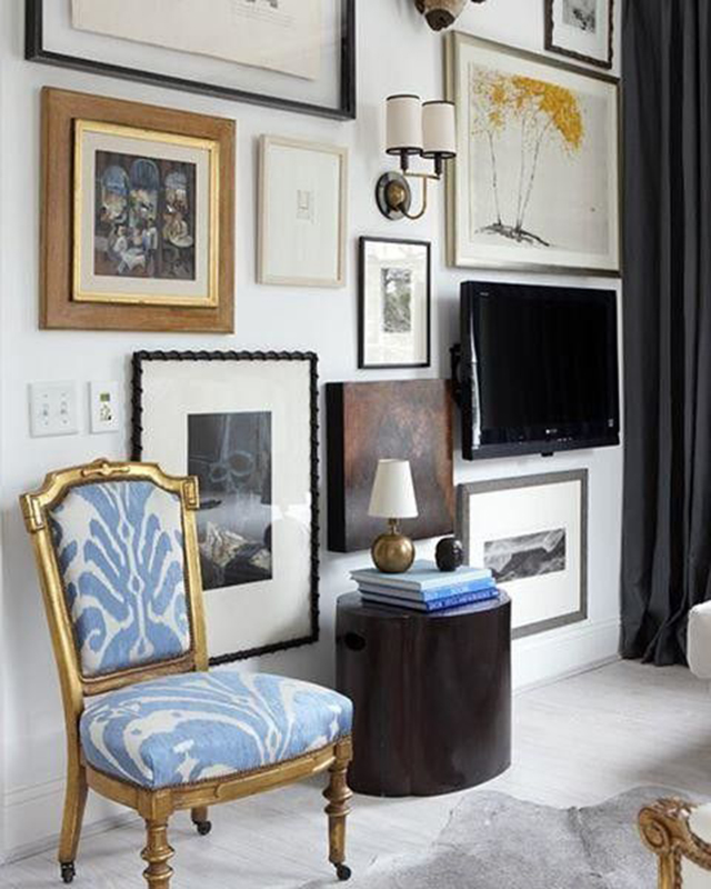 8 Creative Ways To Decorate Around Your Tv Tuft Trim