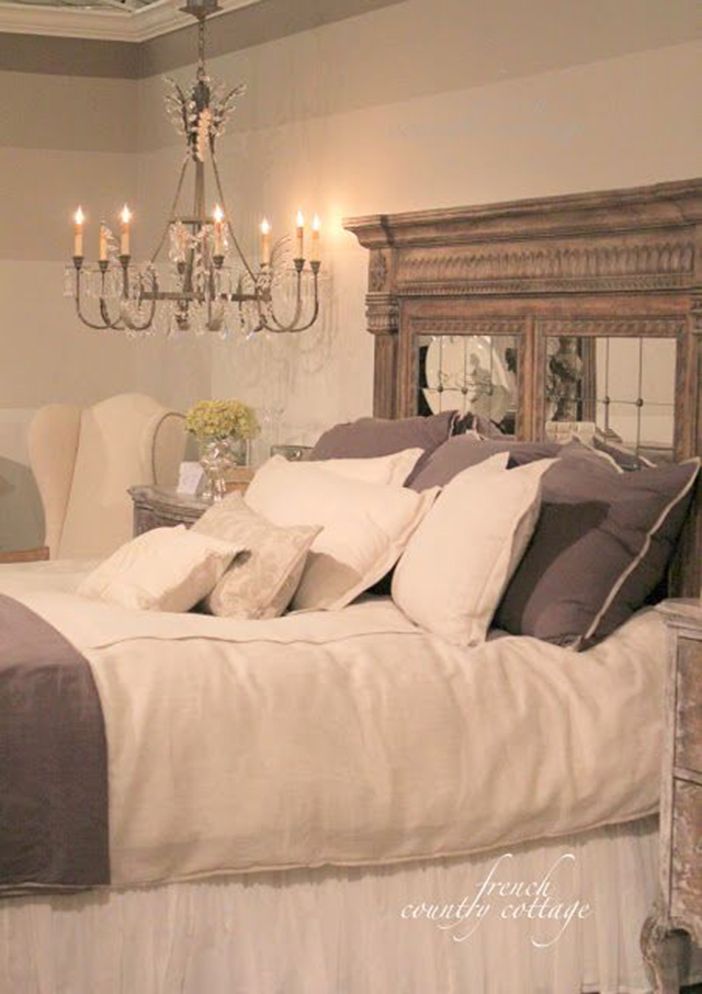 10 Creative DIY Headboard Ideas: Mantle Headboard