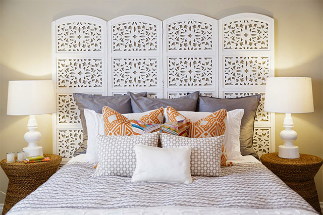 10 Creative DIY Headboard Ideas: Room Divider Headboard