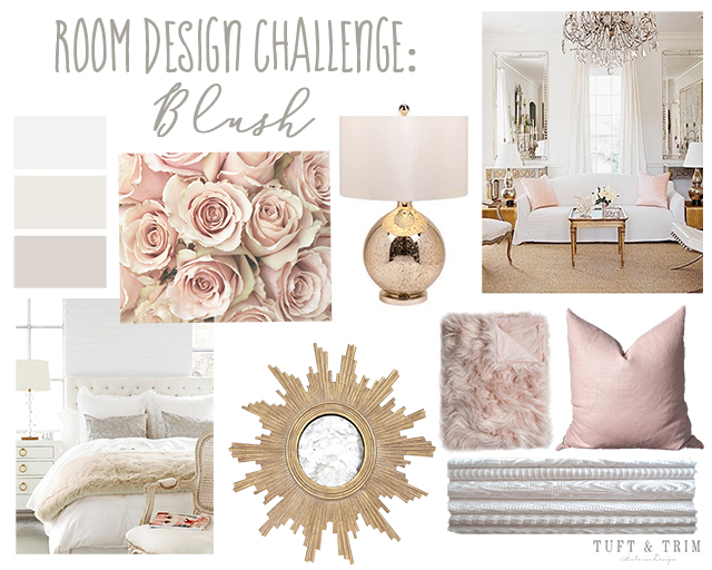 Room Design Challenge: Blush