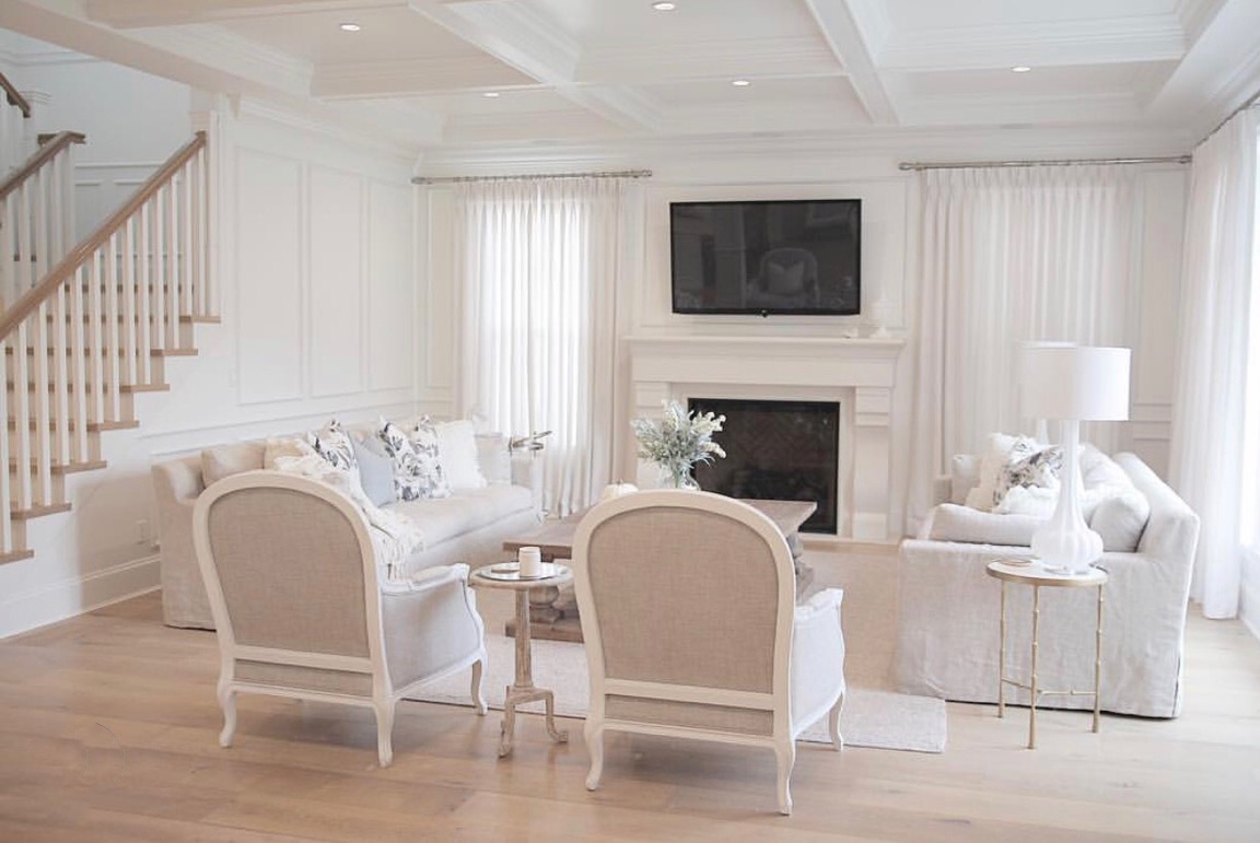 A White Dream Home by JS Home Design - Tuft & Trim