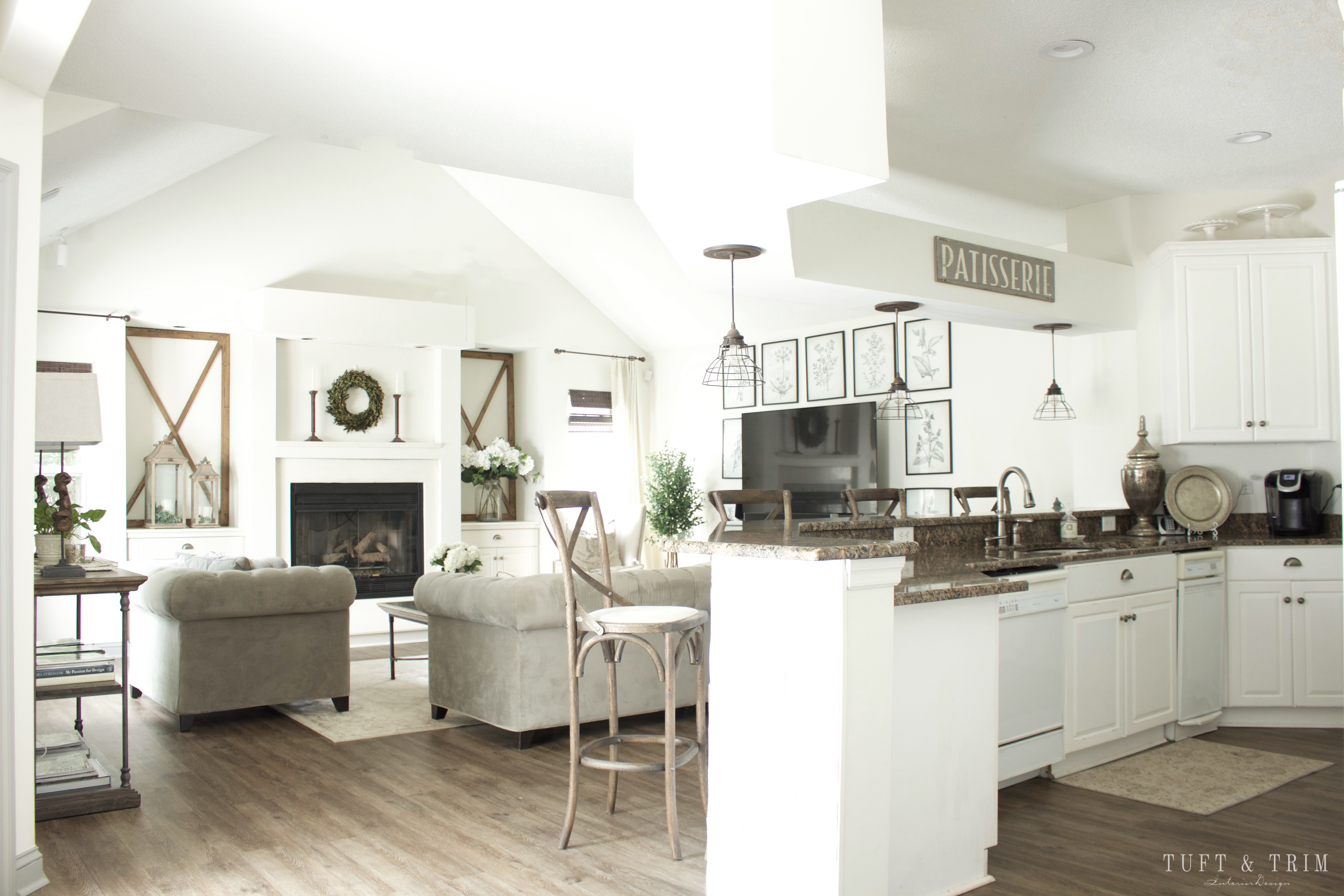 100 Kitchens On A Budget Our French Country Kitchen Tour Our Southern Home Kitchens On A