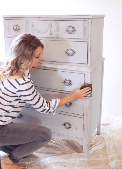 Dresser Makeover with Amy Howard At Home