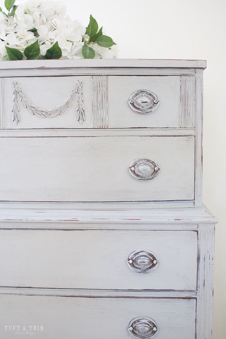 Dresser Makeover with Amy Howard At Home. DIY Paint Project.