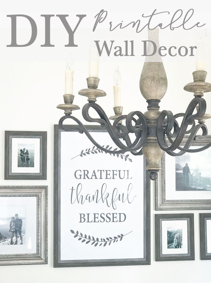 DIY Printable Wall Decor for Fall