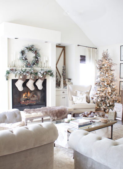 Holiday Tour Part 1: Rustic Chic Christmas Decor