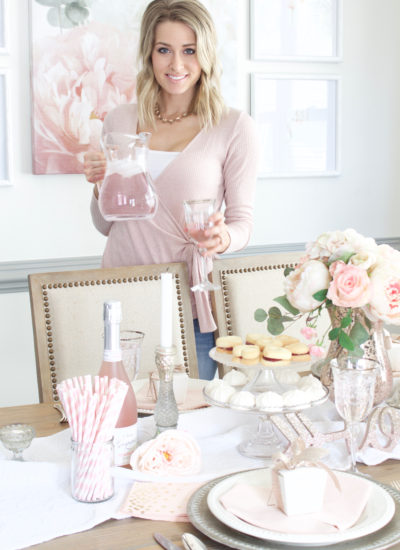 Pretty in Pink: Valentines Day Tablescape Tour