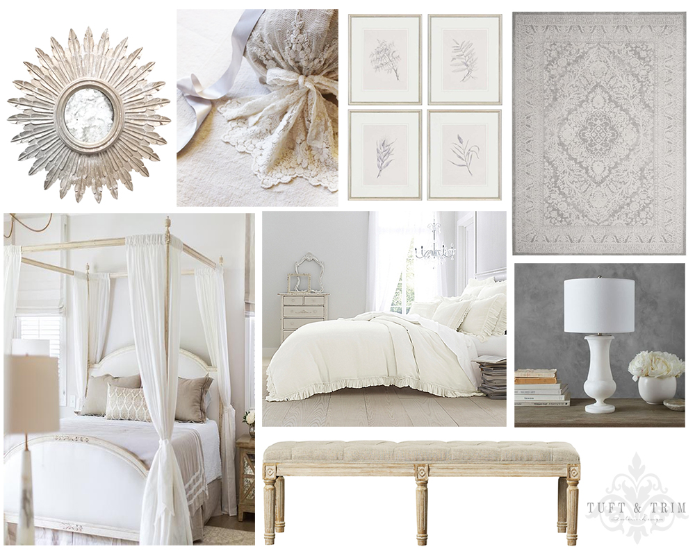 Master Bedroom Update: Design Concept French Elegance