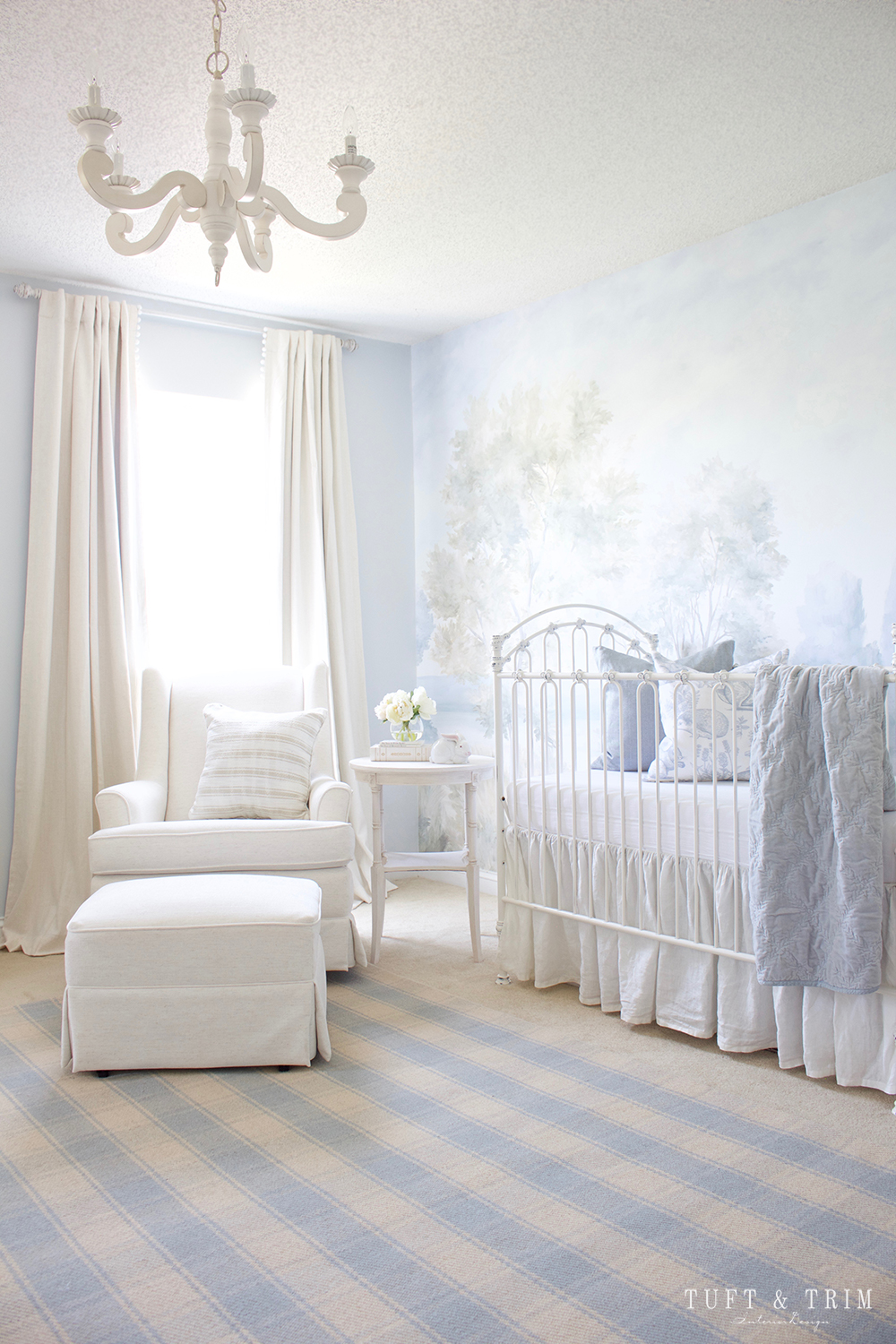 A Whimsical Nature Themed Nursery Fit For A Prince Tuft