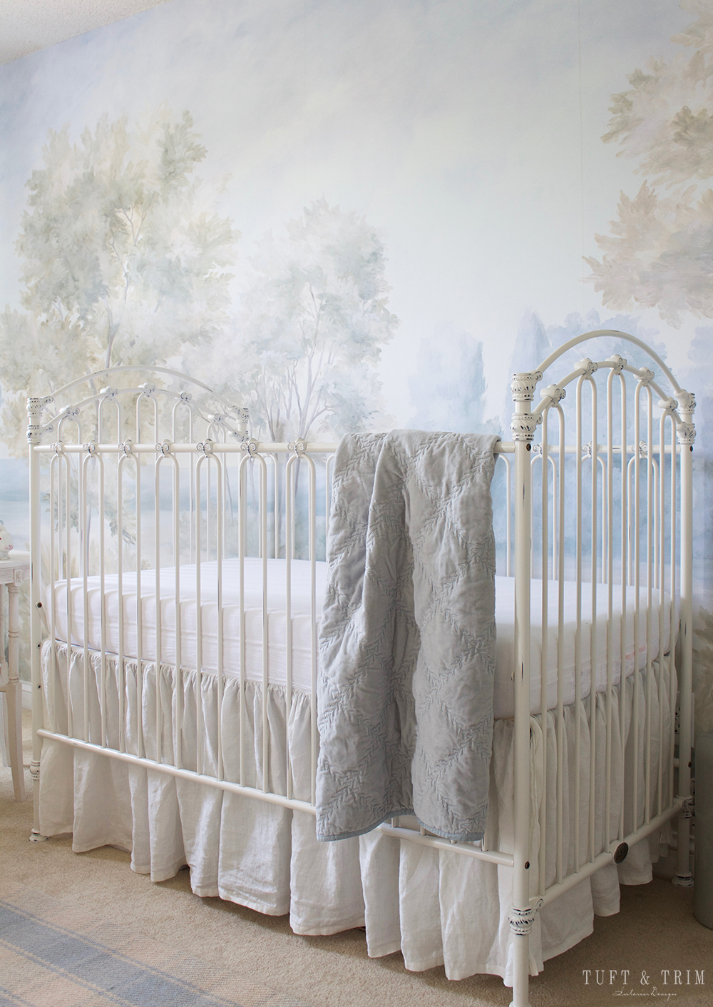 A Whimsical Nature Themed Nursery Fit