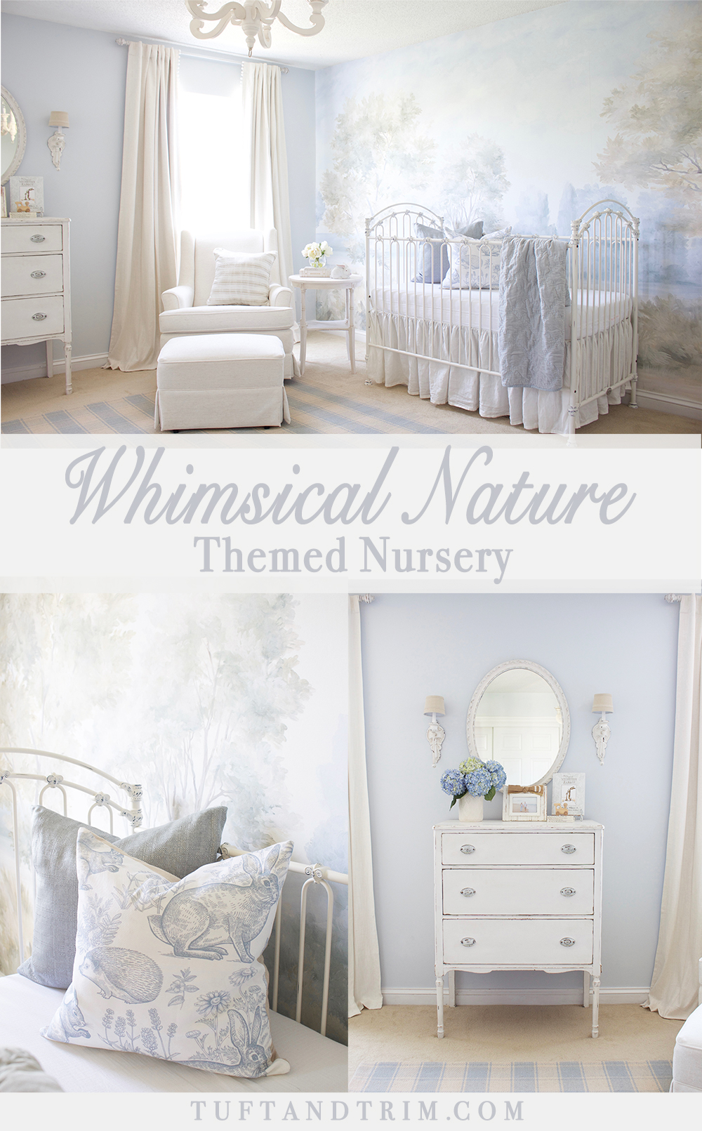 A Whimsical Nature Themed Nursery Fit For Prince Design By Tuft Trim Interior