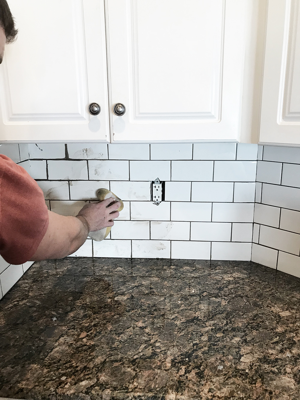 Diy Subway Tile Backsplash Tuft Trim